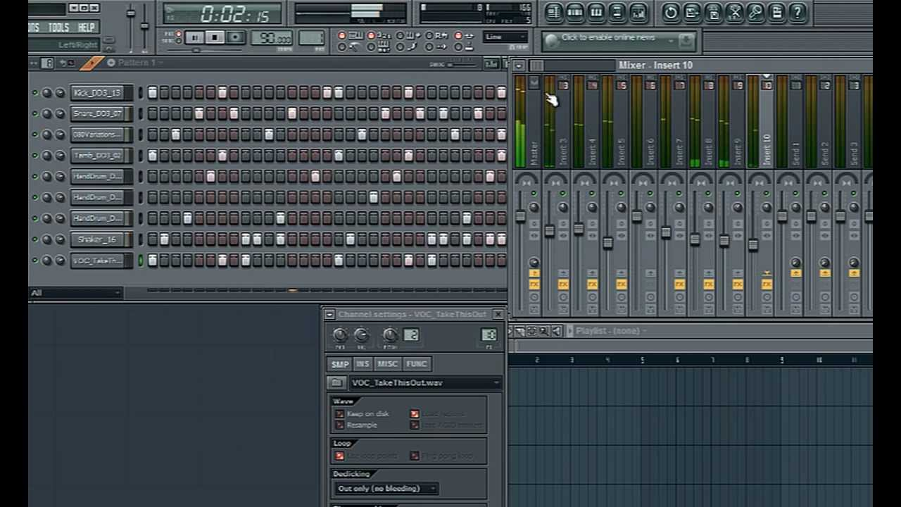 fl studio hip hop beat