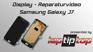 Samsung Galaxy J7 (2017) Display-Einheit Austausch Reparatur Tutorial | laptiptop.com