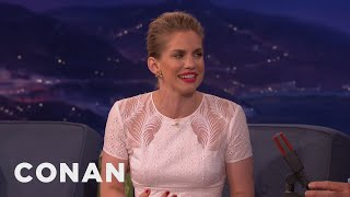 Anna Chlumsky's Childhood Barbie World  - CONAN on TBS