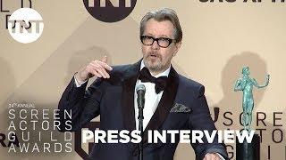 Gary Oldman: Press Room Q&A | 24th Annual SAG Awards | TNT