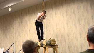 "Woodworking in America 2013 - Roy Underhill ""TIMBER!!!"""