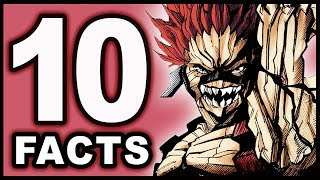Top 10 Eijiro Kirishima Facts You Didn't Know! (My Hero Academia / Boku no Hero Academia)