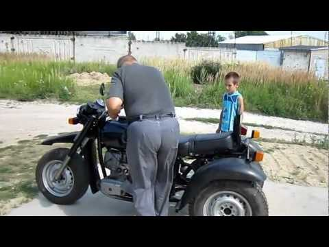Посмотреть ролик - Трицикл видео смотреть ролик самодельный трицикл из урала фото трайк из урала.