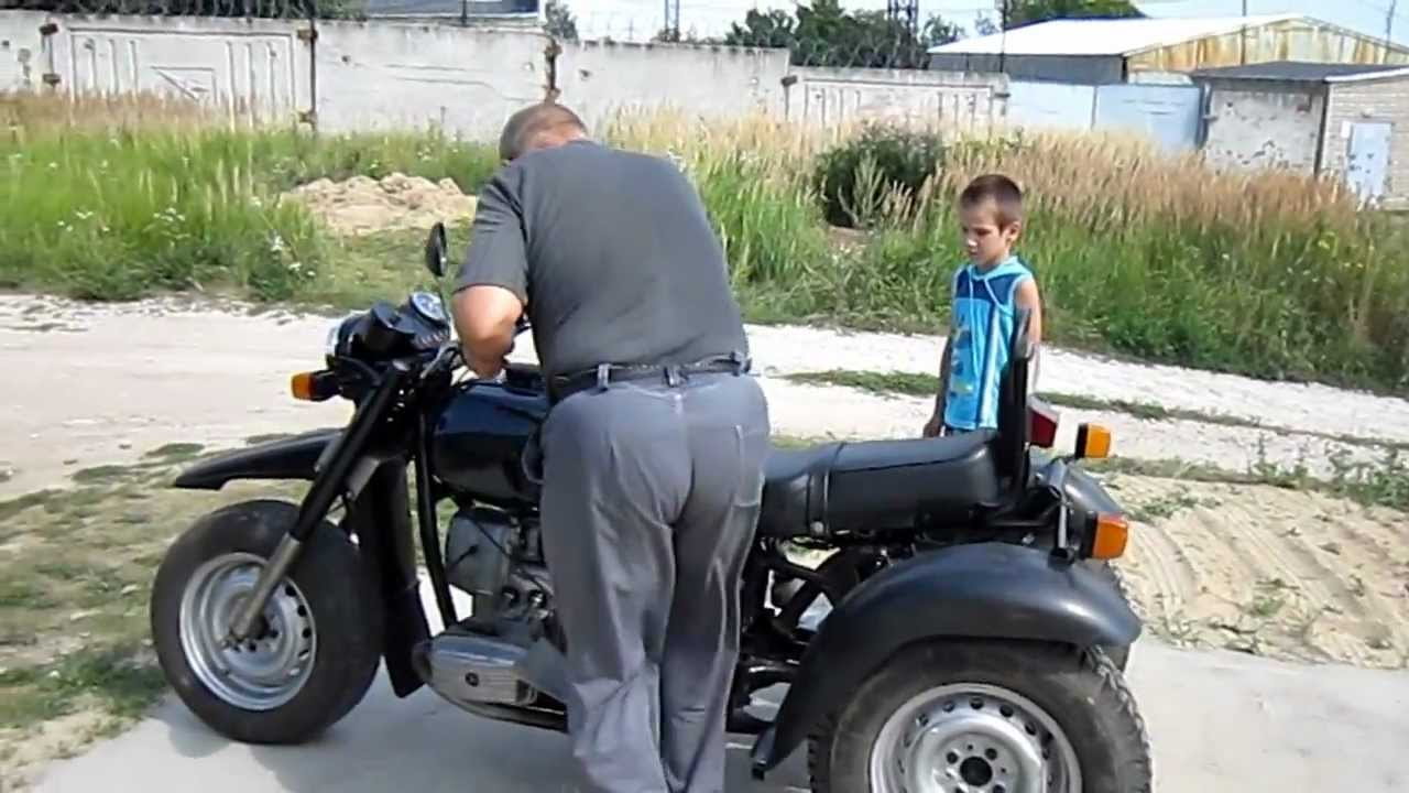 Мотоцикл своими руками ютуб 87