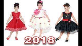 Summer Dress For kids dress Girls Children Dress  Cotton 2018 Girl Baby