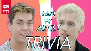 Troye Sivan Challenges A Super Fan In A Trivia Battle | Fan Vs. Artist Trivia