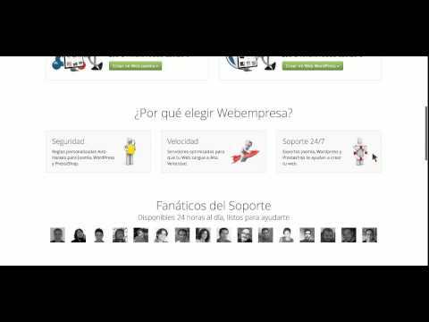 Webempresa.com opinión cliente + Descuento en empresa de hosting barato para España