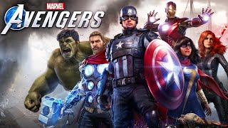Marvel's Avengers - Joguei Com TODOS OS VINGADORES!!!! [ PS4 Pro - Beta Gameplay 4K ]