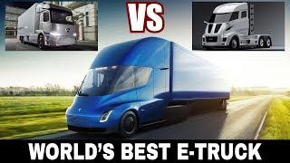 Tesla Semi vs Nicola One vs Mercedes Urban: Which Is the Best Electric Truck?