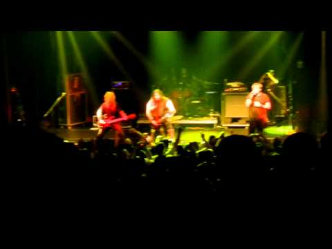 Fear Factory- Fear Campaign- Noise in the Machine Tour- Gramercy Theatre, NY- 5/13/12