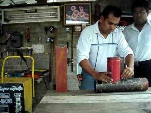 Como hacer una estufa ahorradora de le a youtube - Como hacer chimeneas de lena ...