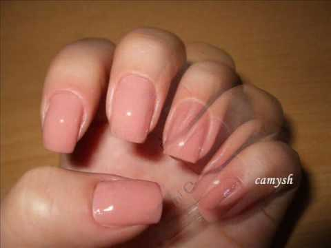 Nail design made with the toothpick - Tutorial