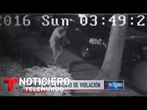 Impactante video muestra cómo un hombre intenta violar a una mujer en plena calle