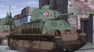 Girls und Panzer | BC Freedom High School | The French Are Coming! | HD