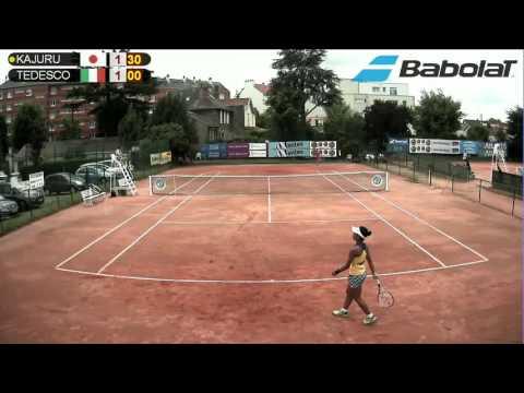 Ange Oby KAJURU (JPN) vs Giulia TEDESCO (ITA) - Court 12