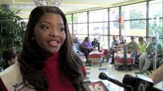 American Idol Alum, Miss Mississippi Contestant Jasmine Murray Visits Batson Children's Hospital