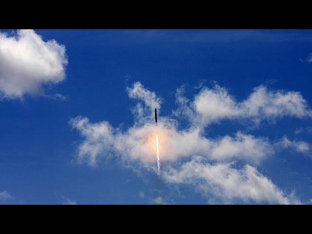 Explosion de la fusée transportant la capsule de SpaceX