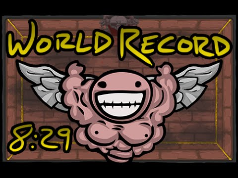 The Binding of Isaac - World Record Speed Run to the Chest (08:29.69) (07/12/2014)