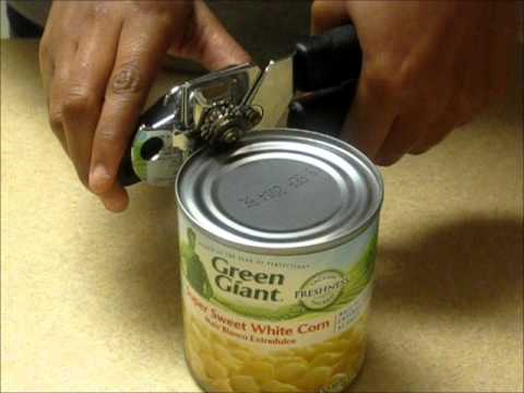 Can Opener - YouTube
