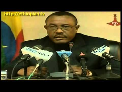 Deputy PM Hailemariam Desalegn on the Death of PM Meles Zenawi ...