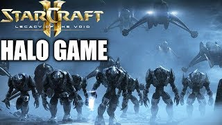 Covenant Invasion of UNSC Halo Game Halo Mod Starcraft 2 Mod SC2