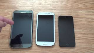 Galaxy SIII vs iPhone 5 *Ultimate, Insightful Review* (TIME CODED)