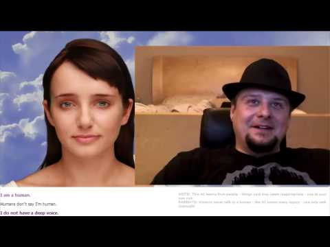 Wicked Talks To Cleverbot - Evie Sexbot Won't Put Out video