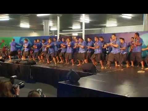 Spine-tingling stuff from the Samoans, both team and fans. Thousands turned up at Auckland International Airport to welcome the team Aug 1st, 2011. The team performed the Siva Tau. The...
