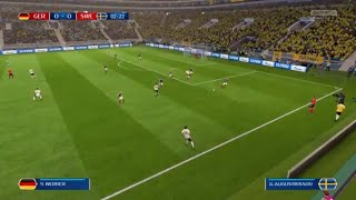 FIFA 18 World Cup Germany vs Sweden
