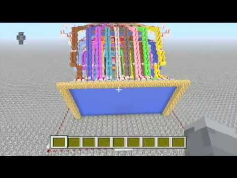 Minecraft Redstone TV   Converted From PC - XBOX   More Maps Coming Your Way!