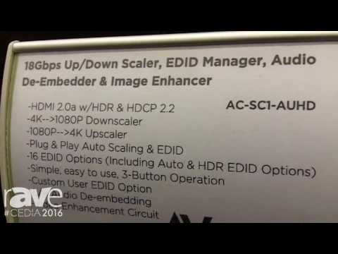 CEDIA 2016: AV Proconnect Introduces AC-SC1 Enhancer