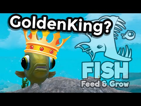 King of the Goldfish!? | Feed and Grow Fish CHALLENGE Gameplay!