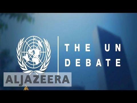 First ever UN Secretary General debate