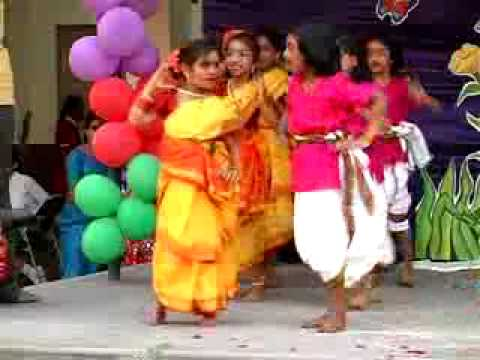 Telugu Folk Song - Hoyare At St. Anns School - Tarnaka - Kids Day Program video