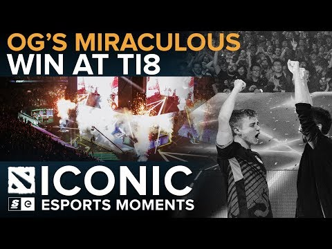 ICONIC Esports Moments: OG's Miraculous Win at TI8