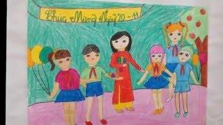 Cuộc thi vẽ tranh của học sinh Tiểu học Dương Xá 2015