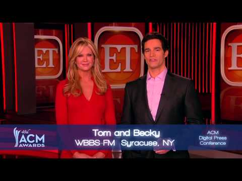 2013 ACM Awards On-Air Personality of the Year Nominees Presented by Nancy O'Dell and Rob Marciano