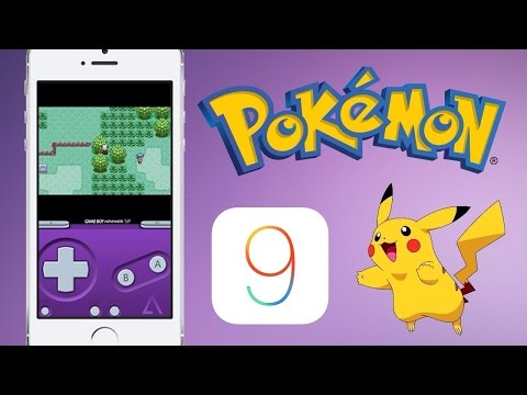 How to Play Pokemon on your iPhone/iPod/iPad on iOS 9 - 9.3.3  - GBA (GameBoy/ROMs) - iPhone 6S Also