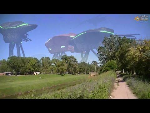 Cómo sería una invasión alienígena II - Aliens invaders