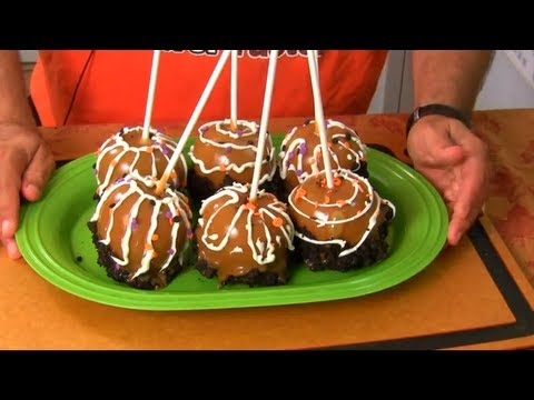 Halloween - Monster Caramel Apples