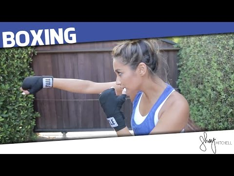 Boxing Workout Routine | Shay Mitchell