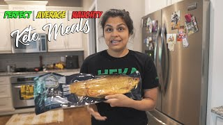 Perfect, Average, and Naughty Keto Meals | What We Eat in a Day