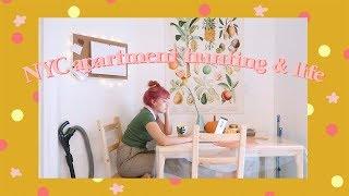 NYC Apartment Hunting, Thrifting, & Life | Vlogmas Week 1
