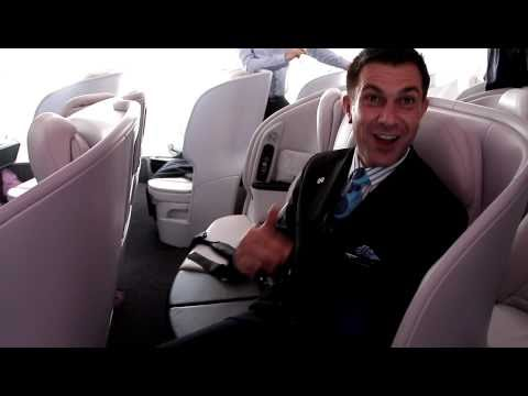 Inside Air New Zealand's New Boeing 777-300ER Premium Economy Class