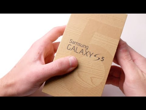 Samsung Galaxy S5 White Unboxing!