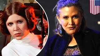 Carrie Fisher dead at 60: Famed Star Wars actress dies following heart attack on plane - TomoNews