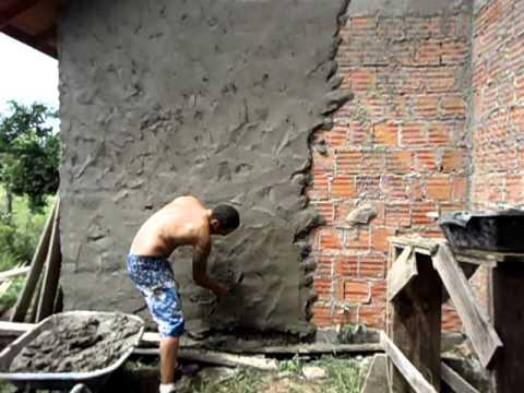 Massa para rebocar parede