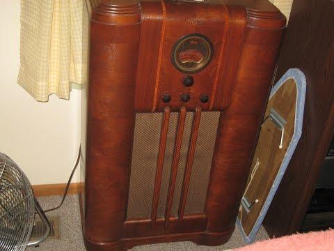Philco Floor Radio 1938 Philco Floor Radio