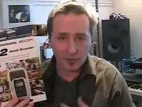 ZOOM H2 Digital recorder