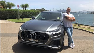 The 2019 Audi Q8 Review - Luxury SUV with Coupe Styling